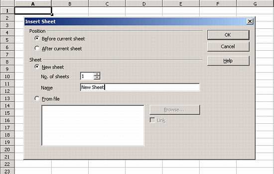 OpenOffice org Calc Tutorial - Adding & Renaming Worksheets