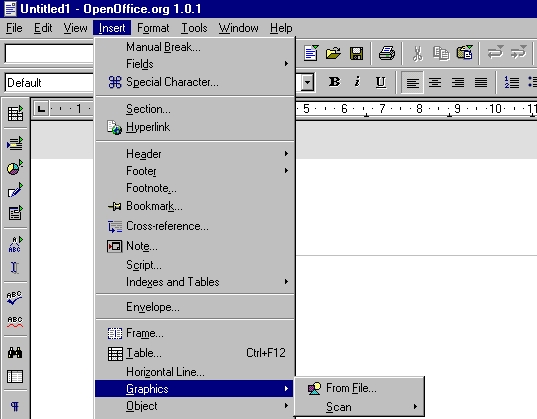 clipart in openoffice writer - photo #37