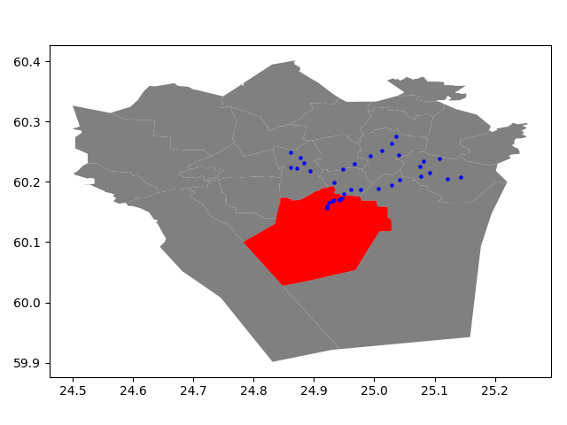 Point in Polygon & Intersect — Geospatial Analysis with Python and R